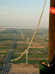 standaard ballonvlucht